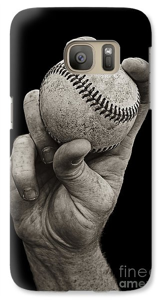 Galaxy S7 Case - Fastball by Diane Diederich