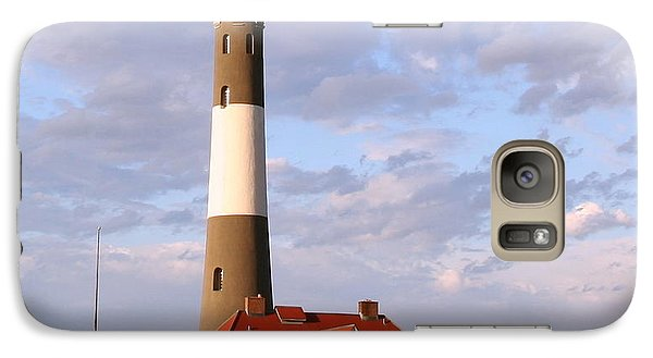 Galaxy Case featuring the photograph Fire Island Lighthouse by Karen Silvestri