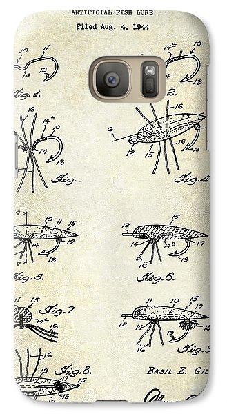 Fishing Lure Patent  Galaxy S7 Case