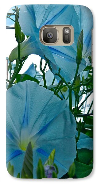 Galaxy Case featuring the photograph Floral Fantasy by Randy Rosenberger