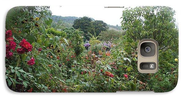 Galaxy Case featuring the photograph Flower Garden by Kristine Bogdanovich