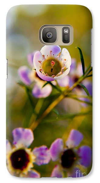 Galaxy Case featuring the photograph Flower by Serene Maisey