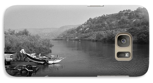 Galaxy Case featuring the photograph Fly Fishing The San Juan by Max Mullins