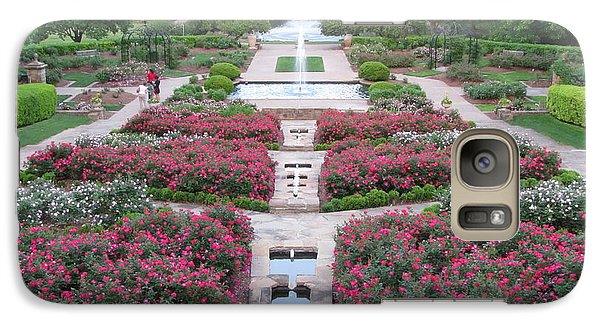 Galaxy Case featuring the photograph Fort Worth Botanical Gardens by Shawn Hughes
