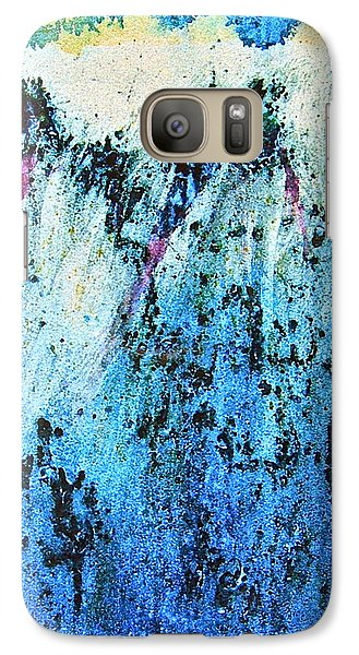 Galaxy Case featuring the painting From The Edge by Carolyn Rosenberger