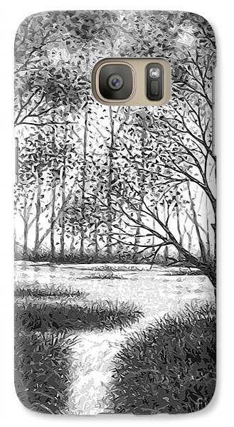 Galaxy Case featuring the digital art Frosty Morning by Cristophers Dream Artistry