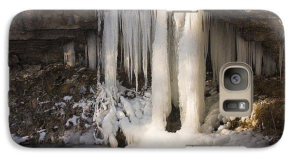 Galaxy Case featuring the photograph Frozen by Scott Bean