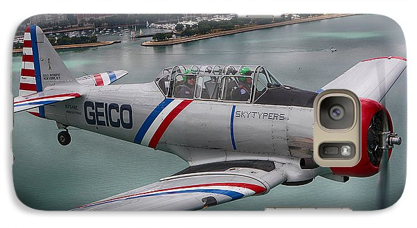 Galaxy Case featuring the photograph Geico Skytypers by Jerome Lynch