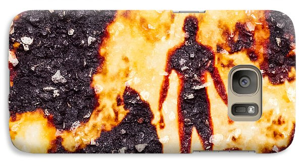 Galaxy Case featuring the photograph Ghost Man by Randy Sylvia