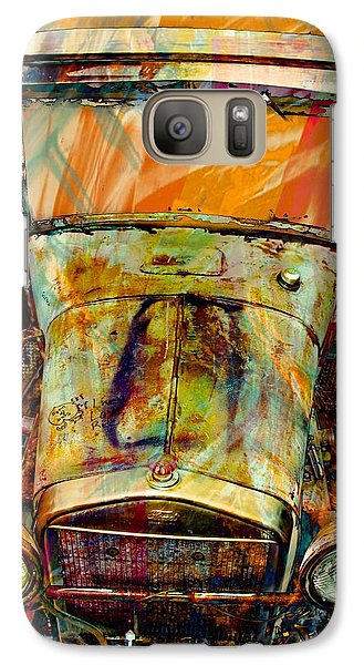 Vintage Car Galaxy Case featuring the photograph Ghost Of 1929 by Aaron Berg