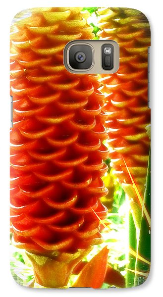 Galaxy Case featuring the photograph Ginger by Therese Alcorn