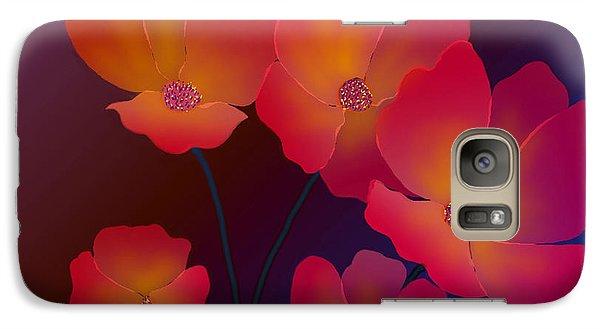 Galaxy Case featuring the digital art Glorious by Latha Gokuldas Panicker