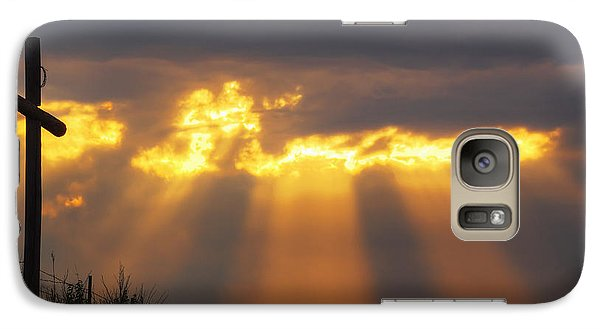 Galaxy Case featuring the photograph Glorious Sunrise by Rob Graham