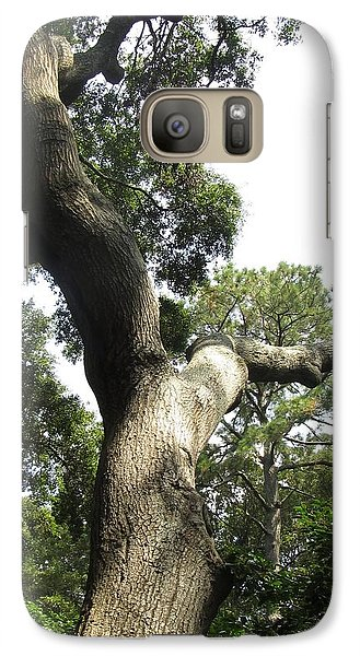 Galaxy Case featuring the photograph Gnarled Tree 2 by Cathy Lindsey