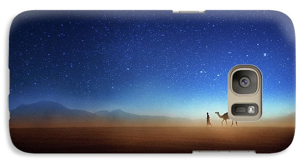 Camel Galaxy S7 Case - Go Home by Djeff Act