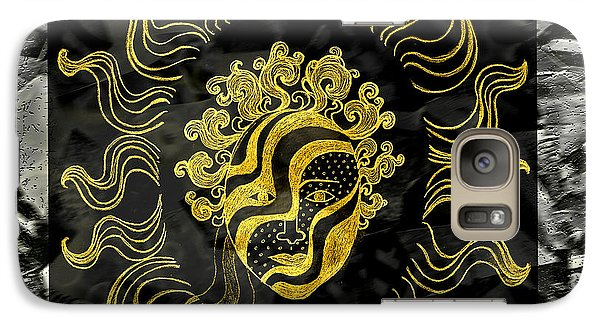 Golden God Galaxy S7 Case by Nareeta Martin