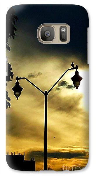 Galaxy Case featuring the photograph Golden by Judy Via-Wolff