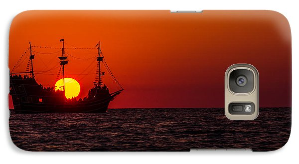 Galaxy Case featuring the photograph Golden Light by RC Pics
