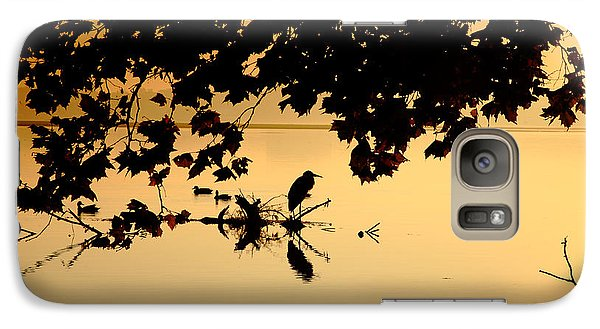 Galaxy Case featuring the photograph Golden Morning II by Steven Ainsworth