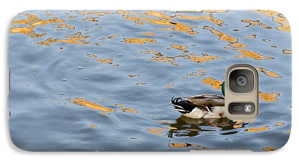 Galaxy Case featuring the photograph Golden Ripples by Keith Armstrong