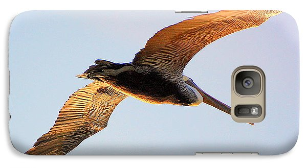 Galaxy Case featuring the photograph Golden Wings by AJ  Schibig