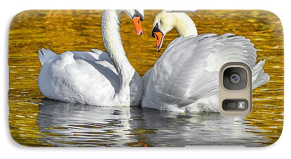 Galaxy Case featuring the photograph Golden by Brian Stevens