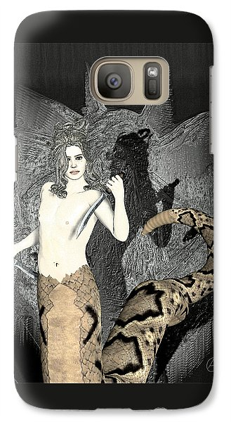 Gorgon Medusa  Galaxy S7 Case by Quim Abella