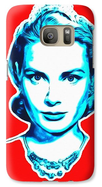 Grace Kelly Galaxy S7 Case by Art Cinema Gallery
