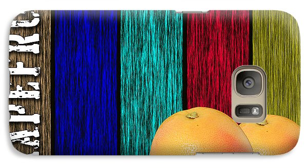 Grapefruit Galaxy Case by Marvin Blaine