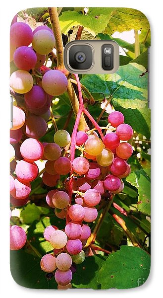 Galaxy Case featuring the photograph Grapes by Rose Wang