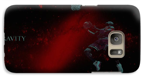 Galaxy Case featuring the mixed media Gravity by Brian Reaves