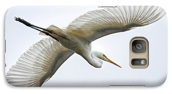 Great Egret Galaxy S7 Case