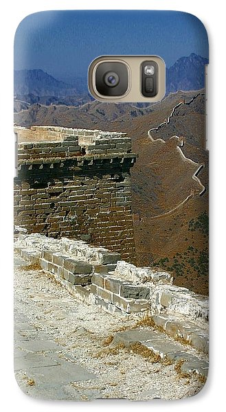 Galaxy Case featuring the photograph Great Wall Of China by Henry Kowalski