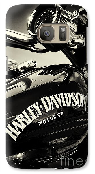 Harley D Sepia Galaxy S7 Case