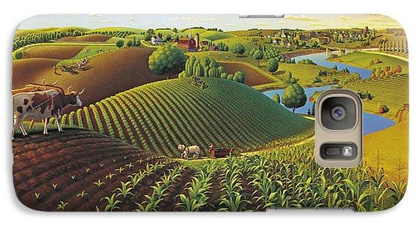 Harvest Panorama  Galaxy S7 Case