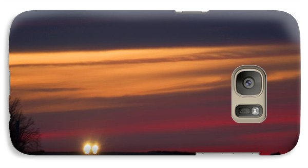Galaxy Case featuring the photograph Headlights by Bob Pardue