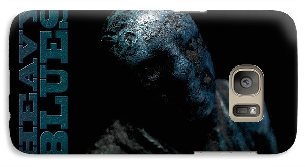 Galaxy Case featuring the photograph Heavy Blues by WB Johnston