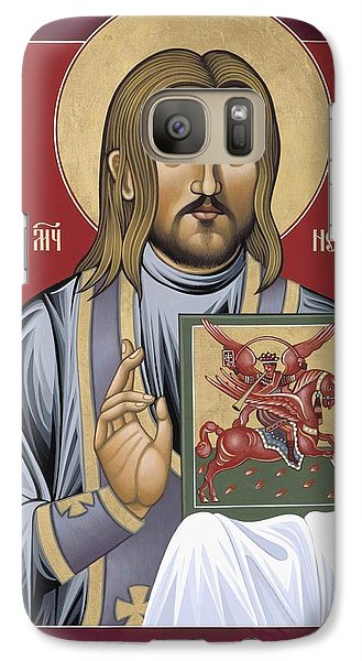 Galaxy Case featuring the painting Holy New Martyr Nestor Savchuk 069 by William Hart McNichols