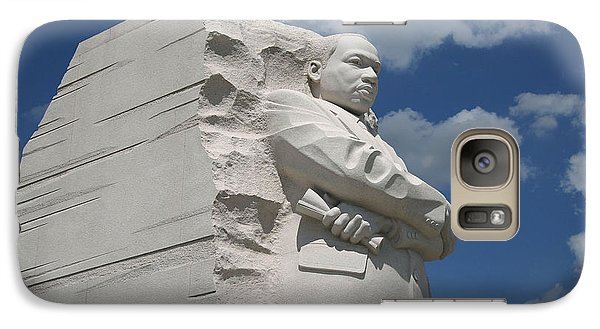 Galaxy Case featuring the photograph Honoring Martin Luther King by Cora Wandel
