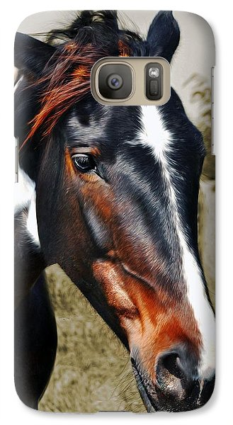 Galaxy Case featuring the photograph Horse by Savannah Gibbs