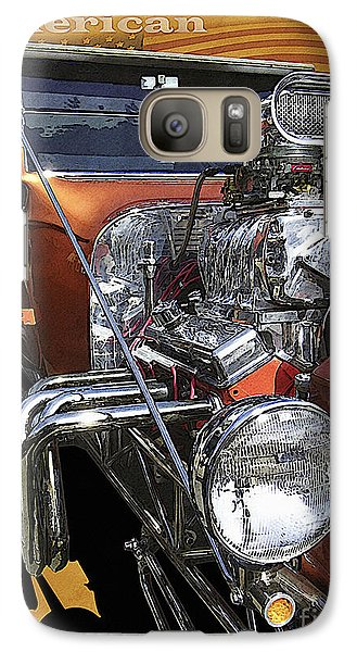 Galaxy Case featuring the photograph Hot Rod by Kenneth De Tore