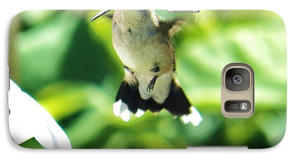 Galaxy Case featuring the photograph Hummingbird 1 2014 by Judy Via-Wolff