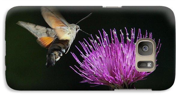 Galaxy Case featuring the photograph Hummingbird Hawk-moth - Macroglossum Stellatarum by Jivko Nakev