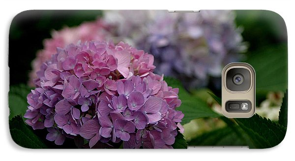 Galaxy Case featuring the photograph Hydrangea by Living Color Photography Lorraine Lynch