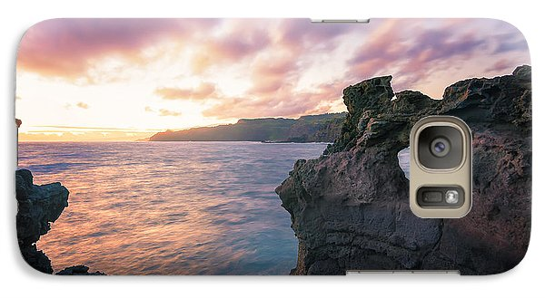 Galaxy Case featuring the photograph I Heart Maui by Hawaii  Fine Art Photography