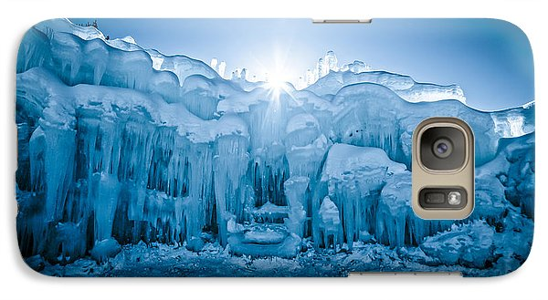 Ice Castle Galaxy S7 Case by Edward Fielding