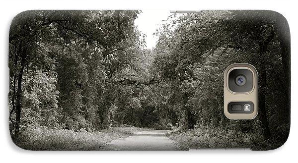 Galaxy Case featuring the photograph Icy Trees by Roseann Errigo