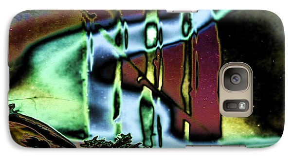 Galaxy Case featuring the digital art In The Fog by Mojo Mendiola