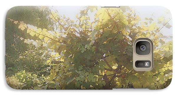 Galaxy Case featuring the photograph Indian Summer Garden by Margie Avellino