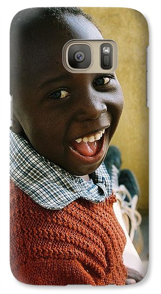 Galaxy Case featuring the photograph Indomitable Happiness by Carlee Ojeda